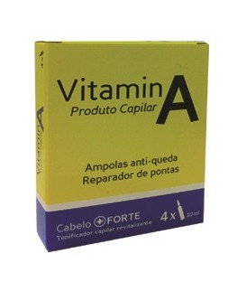 AMPOULES CAPILLAIRES ANTI CHUTE VITAMINE A 4X10ML REAL NATURA