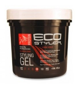 "GEL DE FIXATION PROTEINES 473ML ""Firm Hold"" ECO STYLER"