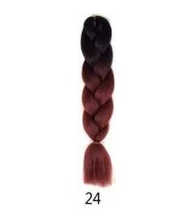 JUMBO BRAID OMBRE TIE AND DYE COULEUR 1