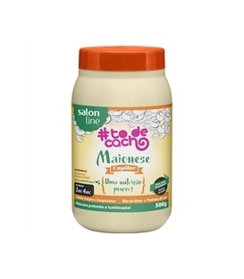 MAIONESE CAPILAR NUTRICAO Power Todecachos 500ML SALON LINE
