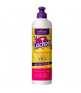 Gelatina Definidor Natural Love Cachos 300ml CAPICILIN