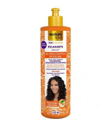 Gel Ativador Relaxante Natural Liberado SOS 320ml SALON LINE