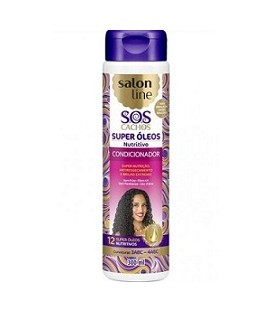 Condicionador Super Oleos Nutritivo SOS 300ml SALON LINE