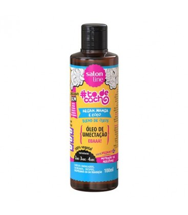 Oleo Umectacao Argan Coco Manga 100ml SALON LINE