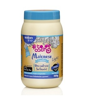 Maionese Capilar Light Liberada 500g SALON LINE