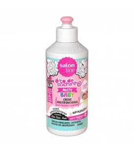 Creme Multifuncional TodeCachinho Baby 300 ml SALON LINE