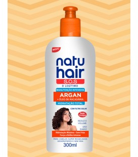 Cream Intensive Maintenance Argan Oil 300ml NATUHAIR