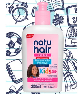Cream Intensive Maintenance Girls Kids 300ml NATUHAIR