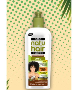Cream Intensive Maintenance SOS Coconut 300ml NATUHAIR