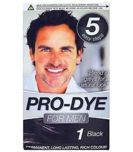 COLORATION PERMANENTE N°1 BLACK POUR HOMME