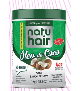 Brushing Cream Coconut Oil 1kg NATUHAIR
