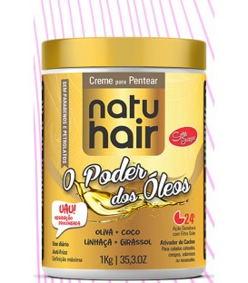 Brushing Cream The Power Oils 1kg NATUHAIR