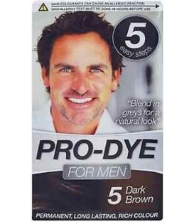 COLORATION PERMANENTE N°5 DARK BROWN POUR HOMME