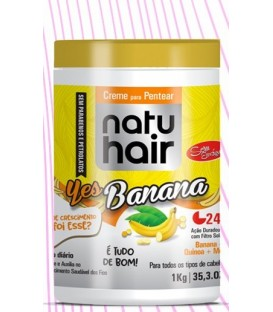 Brushing Cream Yes Banana ! 1kg NATUHAIR