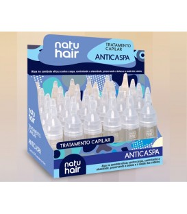 Anti Dandruff Intensive Solution Ampoule 10ml NATUHAIR
