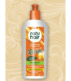 Shampoo Castor Oil 300ml NATUHAIR