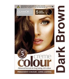COLORATION PERMANENTE N°5 DARK BROWN