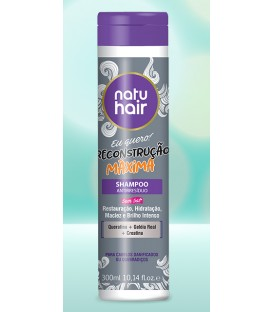 Shampoo Antiresidue Maximum Reconstruction 300ml NATUHAIR