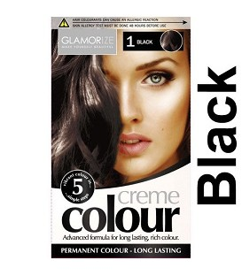 COLORATION PERMANENTE N°1 BLACK