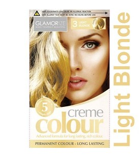 COLORATION PERMANENTE N°3 LIGHT BLONDE