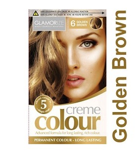 COLORATION PERMANENTE N°6 GOLDEN BROWN
