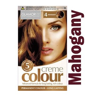 COLORATION PERMANENTE N°4 ACAJOU