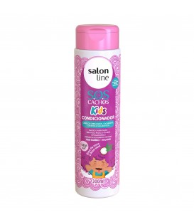 Condicionador SOS Cachos Kids 300ml SALON LINE