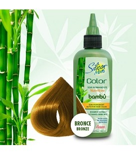 COLORATION SEMI PERMANENTE AU BAMBOU 104ML BRONZE SILICON MIX