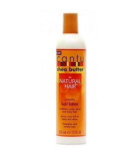 "APRES SHAMPOOING NATURAL HAIR 355ML ""Creamy Hair Lotion"" CANTU SHEA BUTTER"