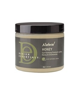 """CREME DEFINITION BOUCLES NATURAL HONEY MIEL CAMOMILLE 227G """"Curl Forming Custard"""" DESIGN ESSENTIALS"""
