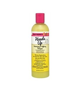 """SHAMPOOING HYDRATANT 355ML """"Heads up"""" AUNT JACKIE'S GIRLS"""