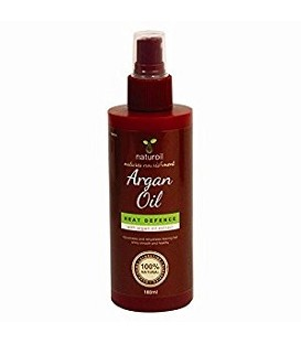 "SPRAY A L'HUILE D'ARGAN PROTECTION THERMIQUE 150ML ""Heat Defence Argan Oil"" NATUROIL"