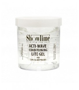 "GEL DE COIFFAGE ACTIVATEUR DE BOUCLES LEGER 475ML ""Acti Wave Conditioning Lite Gel"" SHOWTIME"