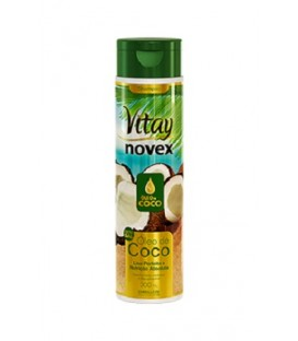 NOVEX HUILE DE COCO SHMPOOING LISSE 300ML