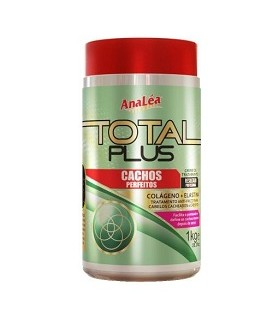 "MASQUE TOTAL PLUS BOUCLES PARFAITES 1KG ""Creme Analéa Total Plus Cachos Perfeitos"" ANALEA"
