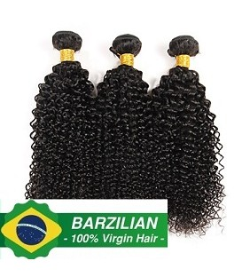 """BRESILIENNE NATURELLE 18""""1B BOUCLEE """"Kinky Curly"""""""