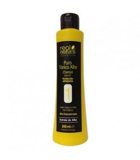 SHAMPOOING TONIC A L'AIL 300ML REAL NATURA