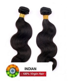 "TISSAGE INDIEN 12'1B NATUREL LISSE ""Straight"""