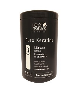 MASQUE PURE KERATINE 1KG REAL NATURA